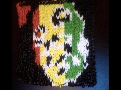 Bob Marley CraZ Loom Tutoriel en Français (mural)