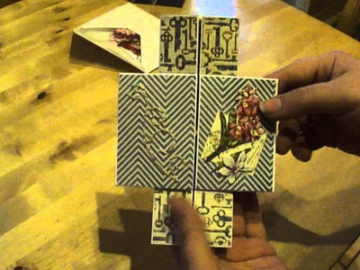 Carte sans fin - Album sans fin - Scrapbooking