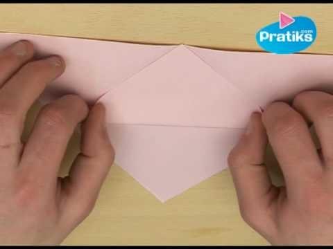 Comment faire un marque page en papier ?