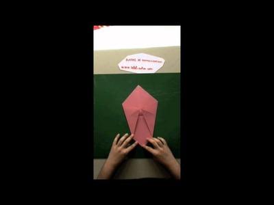 Comment faire une enveloppe papier en origami