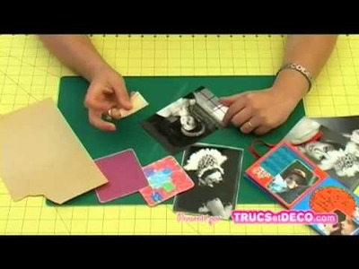 Créez un papier vieilli avec le ponçage - Tutoriel par trucsetdeco.com