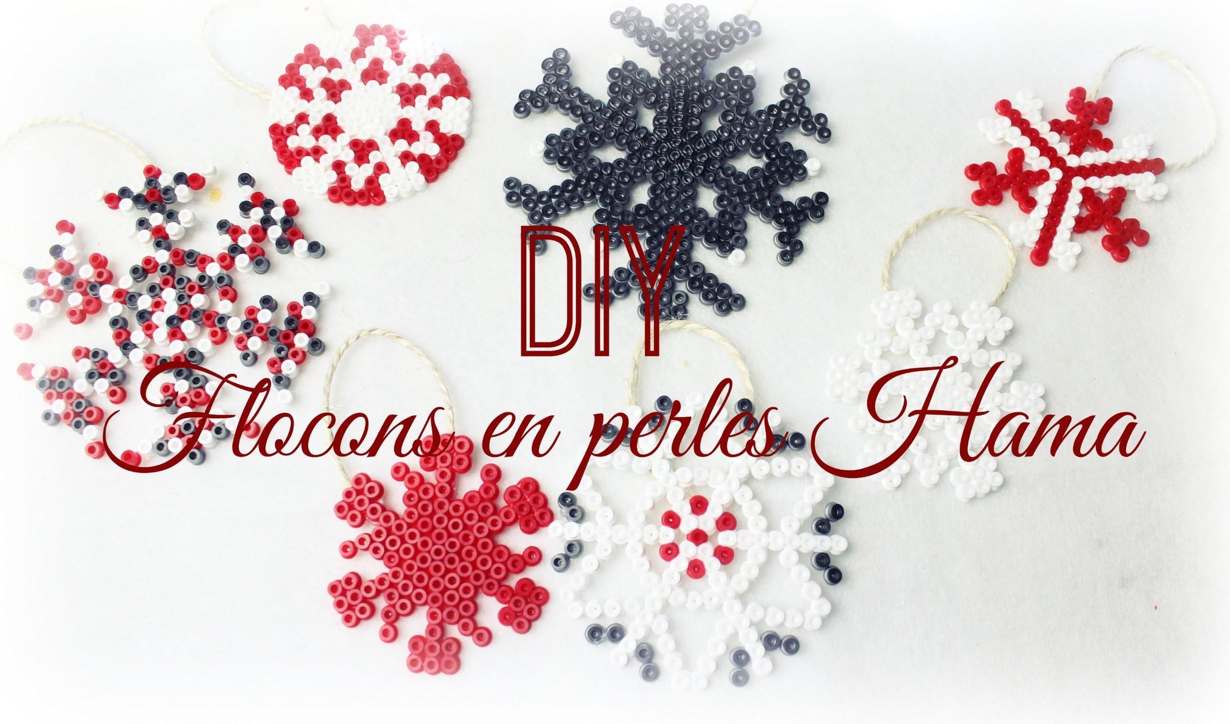 [ D.I.Y de Noël #3 ] : Flocons en perles Hama ❆
