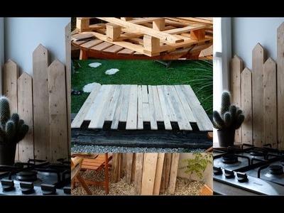 DIY Fabriquer une tête de lit et une protection anti-projection en bois de palette