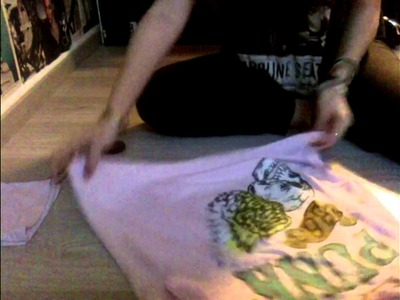 DIY | Faire un tee-shirt loose