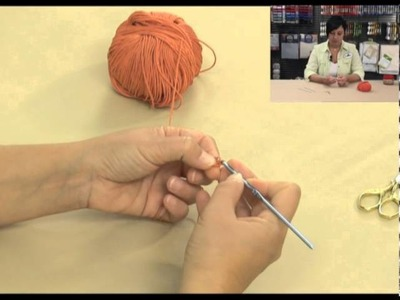 DMC-Crochet partie2-maille serrée