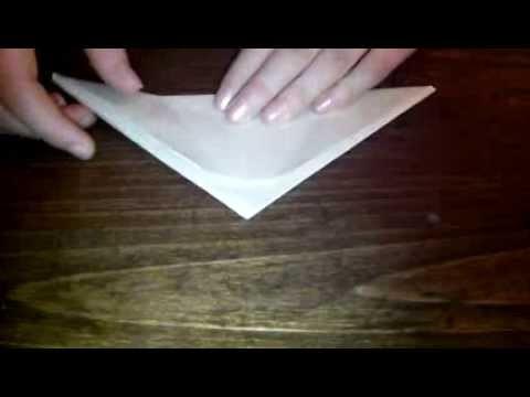 Fabriquer des griffes en origami facile