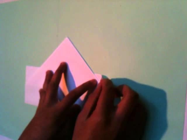 Faire Un Bateau En Papier Origami Facile