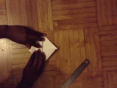 Faire un cœur en papier - Coeur origami