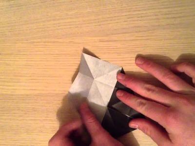 Faire un moulin en papier. Réaliser un moulin en origami