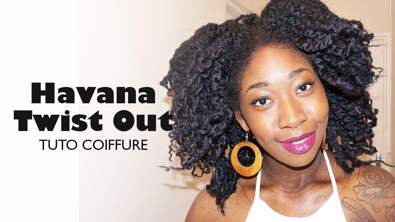 IDÉE COIFFURE I Crochet Havana Twist out