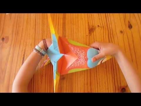 L'oiseau en Origami - étape 5