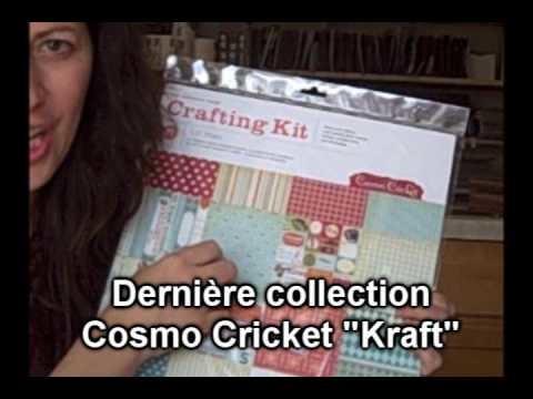 Les papier scrapbooking et les nouvelles collections sublimes de Cosmo Cricket