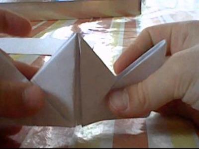 Magikayme - Origami n°2 - Fabriquer une boîte en papier.