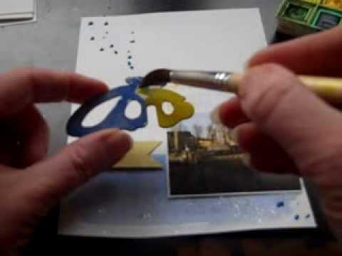 Mon atelier la peinture et scrapbooking