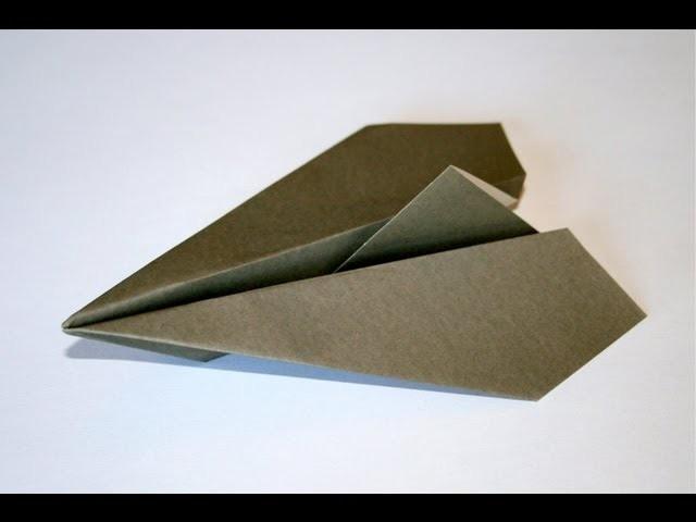 Origami - Aéroplane traditionnel [Senbazuru]