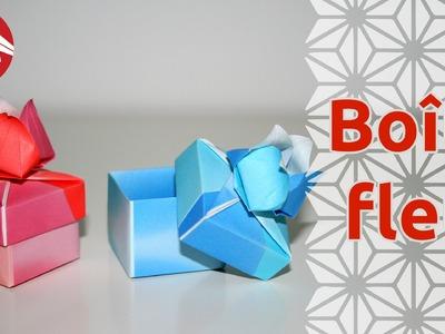 Origami - Boite Fleur de Tomoko Fuse - Flower Box [Senbazuru]
