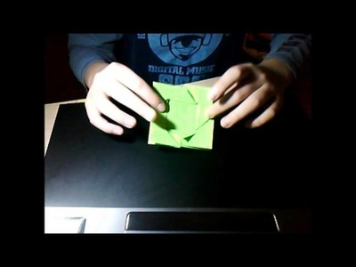 Origami: Boite florale (part1)