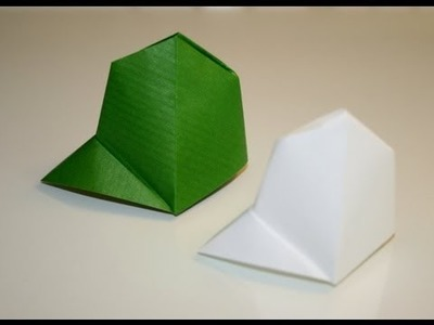 Origami - Casquette traditionnelle [Senbazuru]