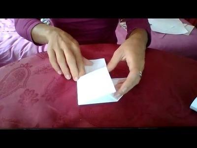 Origami champignon
