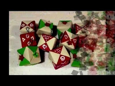 Origami de Noël par Isado.