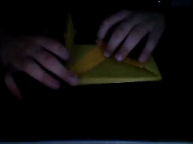 Origami:enveloppe explosive