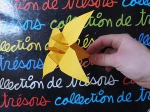 [Origami] La Fleur d'Iris En Papier !