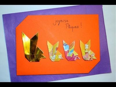 Origami - Lièvre - Hare [Senbazuru]