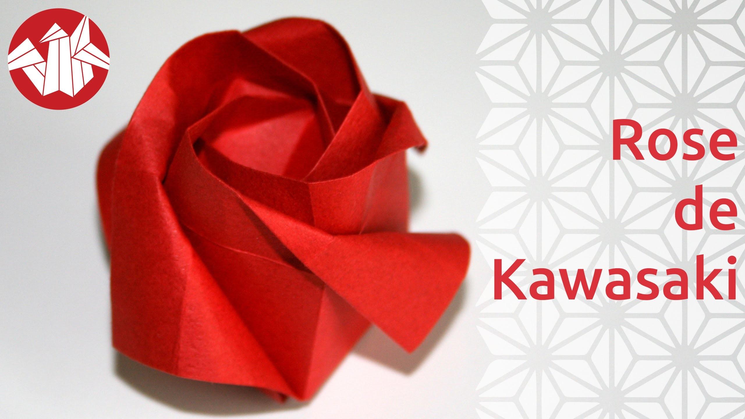 Origami - Rose de Toshikazu Kawasaki [Senbazuru] - photo#45