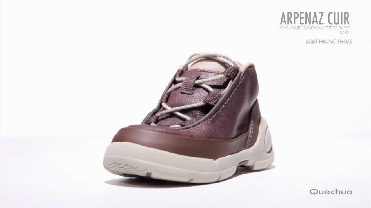 Quechua - Chaussure Arpenaz cuir bébé