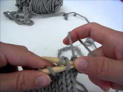Rattraper une maille perdue sans crochet