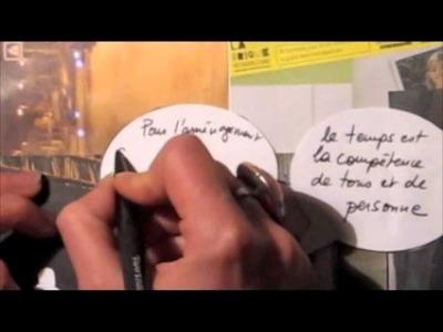 Scrapbooking autour de la Rencontre Rythmes et temps de la ville, 9 octobre 2013, Grenoble