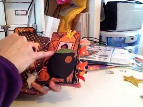 Scrapbooking : Mini Album Halloween