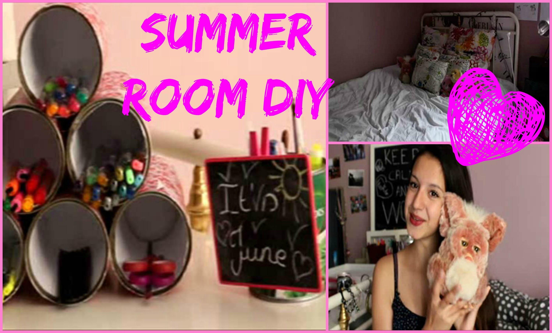 ♥ Summer DIY et IDEES DECO pour votre chambre ♥ #Summer2014