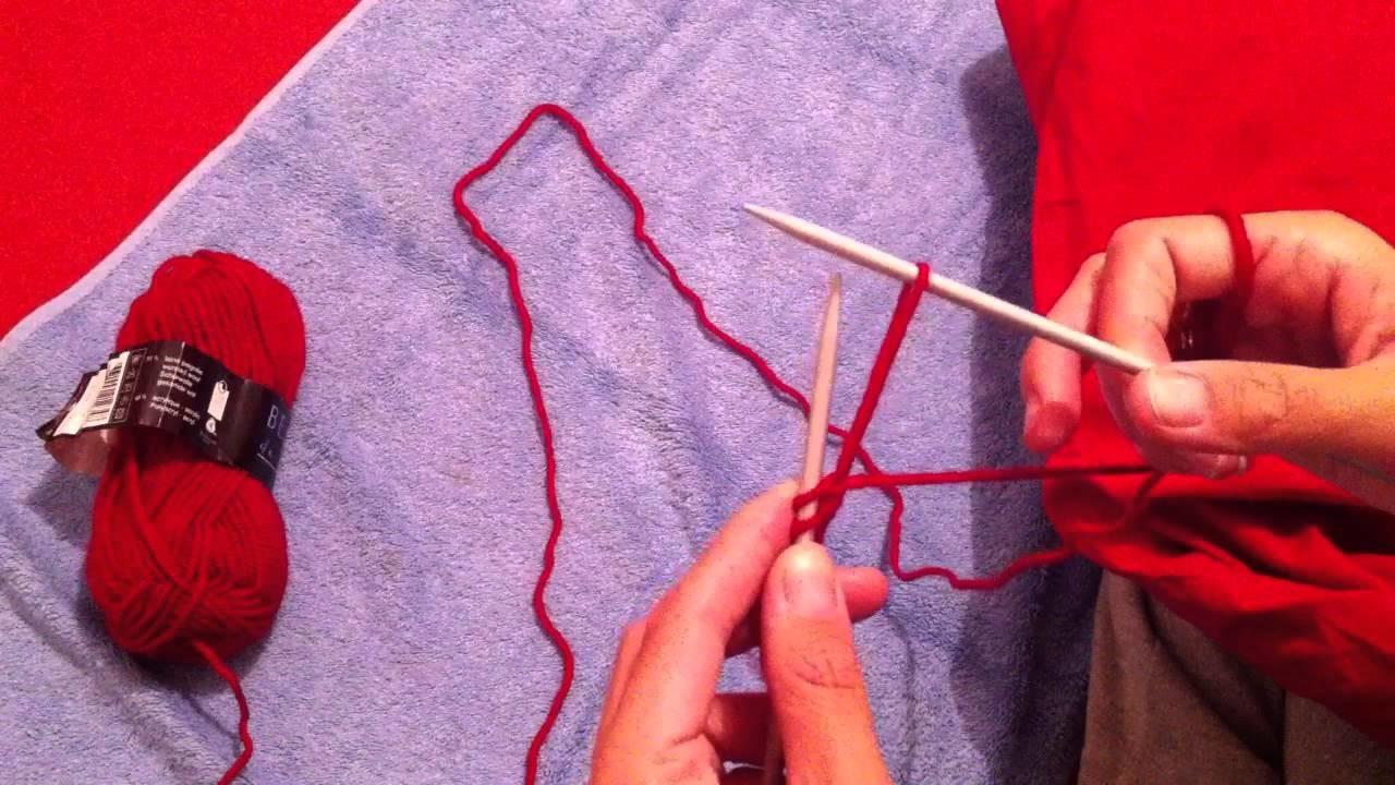 Tricoter le point mousse - Apprendre le tricot - Astuce pour tricoter