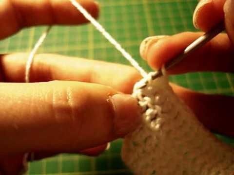 Tuto Crochet: Augmentation avec Brides