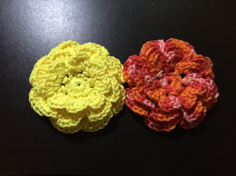 Tuto fleur 1 au crochet