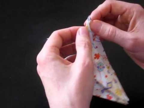 Tuto guirlande de grues en origami