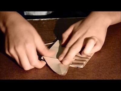TUTO. Origami #2 Le cheval du désert