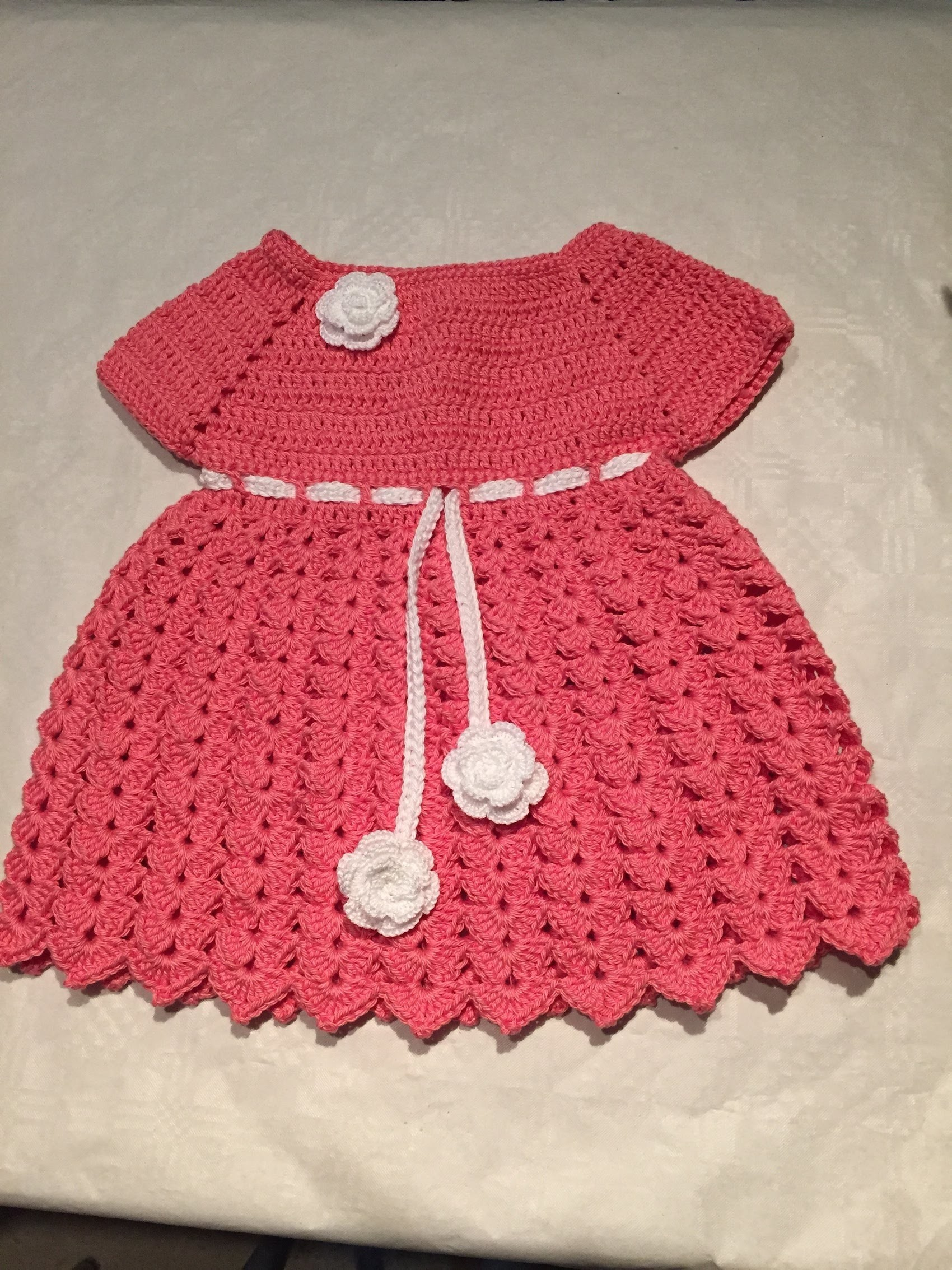 Tuto Robe bébé au crochet