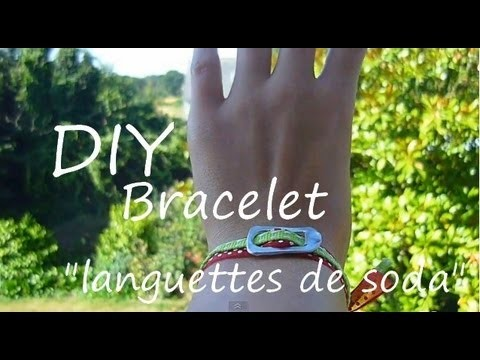 Tutoriel DIY : Bracelet tendance rapide et facile. DIY easy bracelet