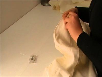 Tutoriel en video : Veste croisée avec doublure partie 3.5