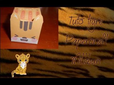 Tutoriel N°6 - Boîte tigre Papercraft Milkbun