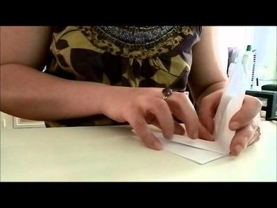 Tutoriel Origami - La Grue