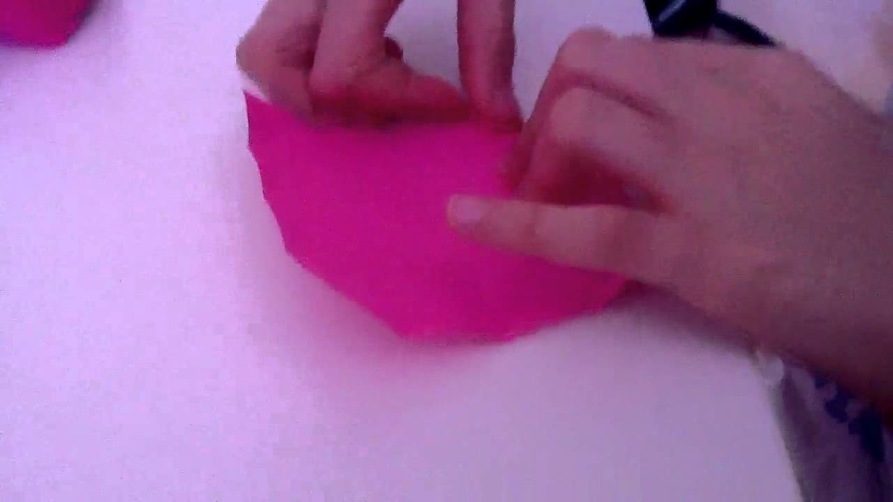 Une boîte en Papier Sans scotch !! #Origami. !