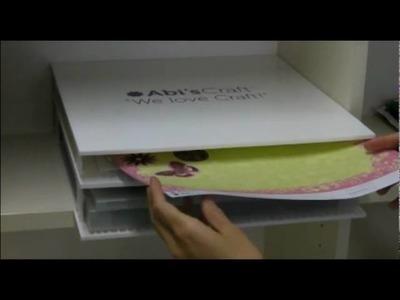 AbiStack™ Rayonnages pour AbiPack™ de Abi's Craft™