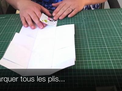 Atelier Scrapbooking: Création d'un cube en relief