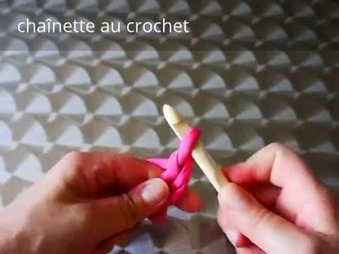Comment faire une chaînette au crochet