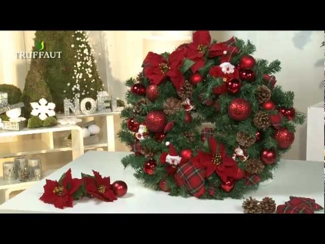 DIY  Noël : une couronne de Noël fait maison