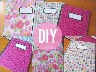 DIY | Personnalisez vos cahiers d'école!