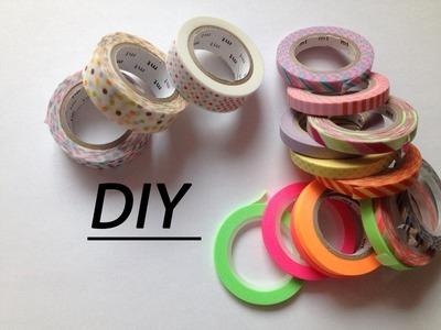 DIY - Que faire avec du Washi tape ? (PPP)